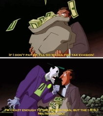 Even The Jokers insanity has limits