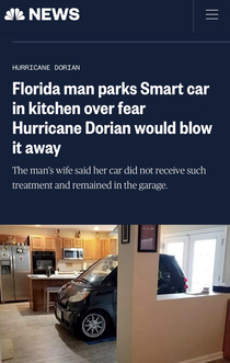 Even when hes not breaking laws and taking mugshots Florida Man is still pretty crazy