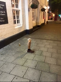 Ever been so drunk you left your leg outside the pub