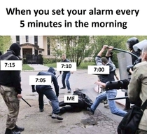 Every f morning