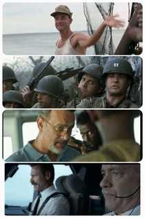 Every few years Tom Hanks plays a slightly more serious Captain