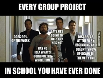 EVERY GROUP PROJECT
