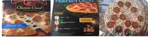 Every picture of the pizza on the box is of an incomplete pizza but they all have more pepperonis than the actual pizza