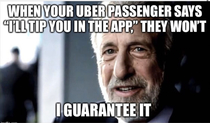 Every rideshare driver has experienced this
