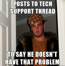 Every search for tech help turns up this asshole