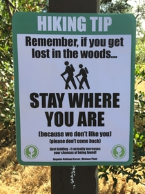 Everyone should follow this hiking tip Especially Steve I hate Steve