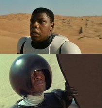 Everyones all like Ooooo a black Storm Trooper how unique and Im over here like