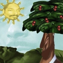 Everything in this picture is made of Snoop Dogg