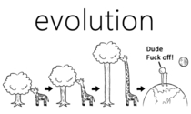 Evolution can be a bitch