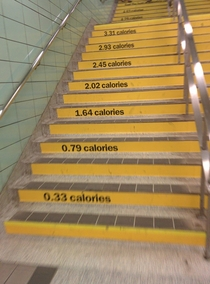 Excellent ad by Yellow Pages The top step said  gyms in Toronto