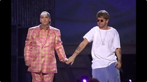 Fabulous Eminem with gangster Elton John