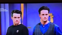 Face swapped Joey and Chandler and created twins