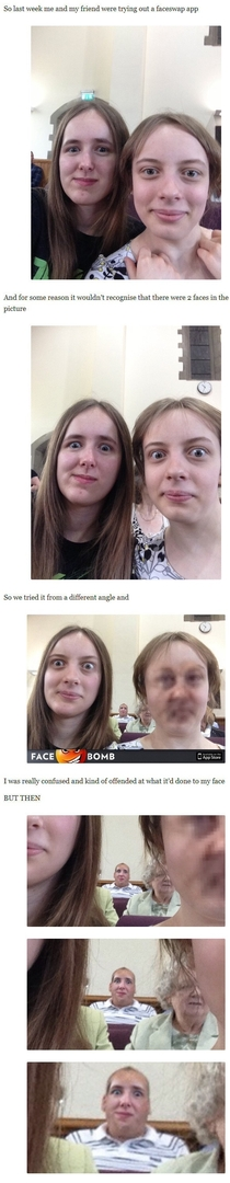 Face-Swapping gone wrong