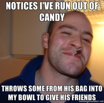 Faith in humanity restored last night by a trick or treater