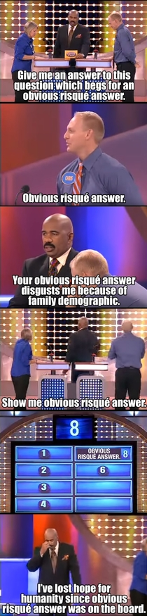 Family Feud Lather rinse repeat
