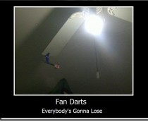 Fan Darts Even funnier when someone loses an eye