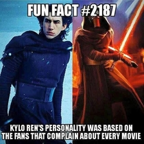 Fan favorite Kylo Ren