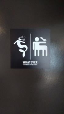 Favorite Bathroom Sign