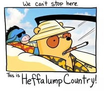 Fear and loathing in the  acre wood