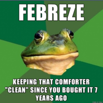 Febreze you the real MVP