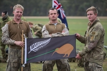 Few weeks ago NZ voted on a new flag unfortunately the Laser Kiwi of Doom version did not win