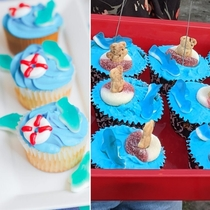 Fianc made me shark cupcakes Turned out awesome I thought