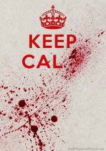 Finally a Keep Calm poster I can get on board with