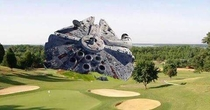 First photo of Harrison Fords downed aircraft from todays crash