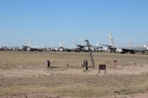 First stealth fighter arrives at the boneyard
