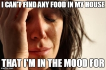 First World Food Problems