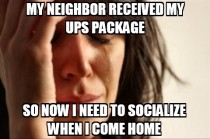 First world UPS problem