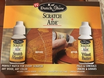 Fix your scratches easily by placing a bottle in front of them