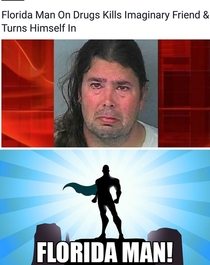 Florida man strikes again