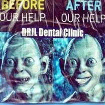 Flyer from a Dentist in my Town