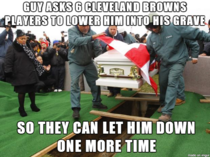 Football bashing Cant forget Cleveland