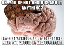 For my first cake day I present the vicious cycle of my scumbag brain