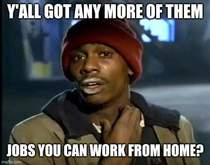For the next  weeks my wife and friends are working from home