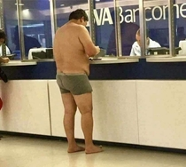 Forgot to wear clothes during Visa interview