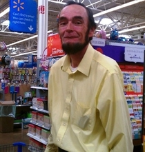 Found Abraham Lincoln at Wal-Mart
