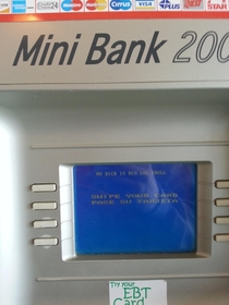 Found at my local Secretary of State Good for you Mini Bank