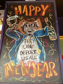 Found in a Mexican restaurant made for new Years