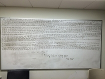 Found in my dorms study room during finals week