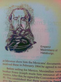 Found Nicolas Cage in a Mexican history textbook