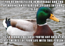 Found out a girl I know has been cheating for nearly  years on her husband Heres a bit of damn advice