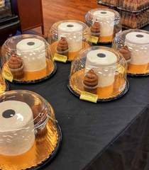 Found some toilet paper  cake and poop cupcakes at my local grocery store