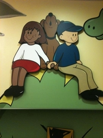 Found this at the childrens hospital My immature mind couldnt help itself