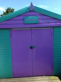 Found this beach hut in my home town