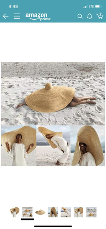 Found this gem while looking for beach hats on Amazon