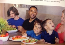 Found this in a Paleo cookbook its the authors family The eldest son far left looks like hes dead inside Frakkin salad for dinner again I just want bread Goddamnit