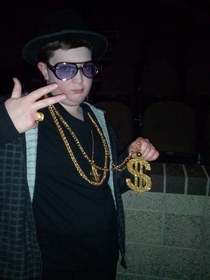 Found this kid on my newsfeed Regardless of the context of this photo I chose to believe he is an actual unstoppable Pimp Lord